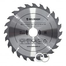 Диск пильный BELMASH 190×1,6/1,4×30/25,4/22,2 24Т