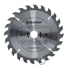 Диск пильный BELMASH 160×1,6/1,4×20/16 24Т