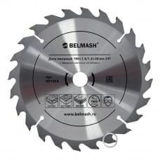 Диск пильный BELMASH 190×1,6/1,4×20/16 24Т