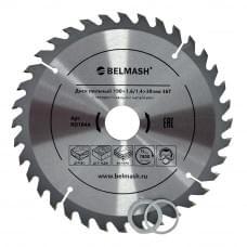 Диск пильный BELMASH 190×1,6/1,4×30/25,4/22,2 36Т