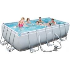 Бассейн каркасный Bestway Rectangular Frame Pool - 56441 404х201х100см
