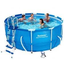 Каркасный бассейн Bestway 56418 366х100 Steel Pro MAX