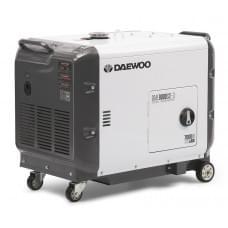 Электростанция дизельная с воздушным охлаждением DAEWOO DDAE 9000SSE-3 в кожухе