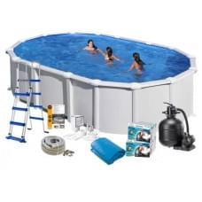 Каркасный бассейн Gre KITPR6188MAG овальный 610x375x132