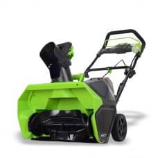 Снегоуборщик аккумуляторный Greenworks GD40ST 40V, 51 см, бесщеточный без АКБ и ЗУ