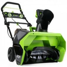 Снегоуборщик аккумуляторный Greenworks GD40SSK2 G-MAX 40V, 30 см, бесщеточный c АКБ 2 А.ч и ЗУ