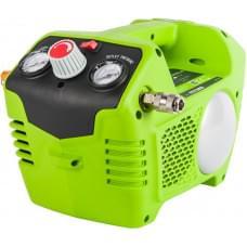 Компрессор аккумуляторный Greenworks G24AC 24V без АКБ и ЗУ