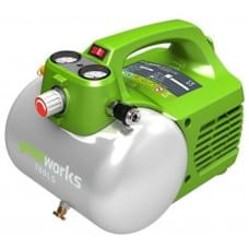 Компрессор электрический Greenworks GAC6L 300W 8 bar