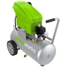 Компрессор электрический Greenworks GAC24L 1500W 8 bar