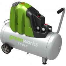 Компрессор электрический Greenworks GAC50L 1500W 8 bar