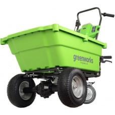 Садовая тележка самоходная аккумуляторная Greenworks G40GCK4 40V