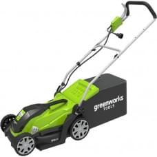 Газонокосилка электрическая Greenworks glm1035 1000w 35 см