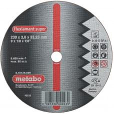 Диск отрезной Metabo по алюминию (125x2,5)