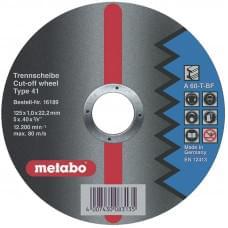 Диск отрезной Metabo по стали (125x1,6)