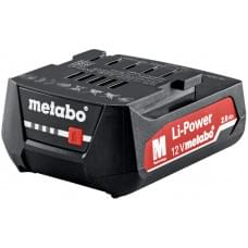 Аккумулятор 12В, 2.0 Aч, Li-Power Metabo, 625406000