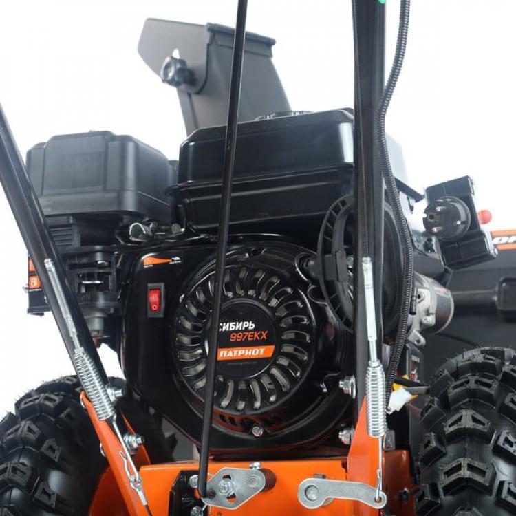 Снегоуборщик бензиновый Patriot Сибирь 997 ЕKX