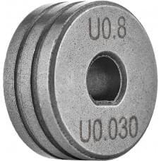 Ролик подающий Сварог Spool Gun 0.8-1.0 (алюминий) IZH0542-01